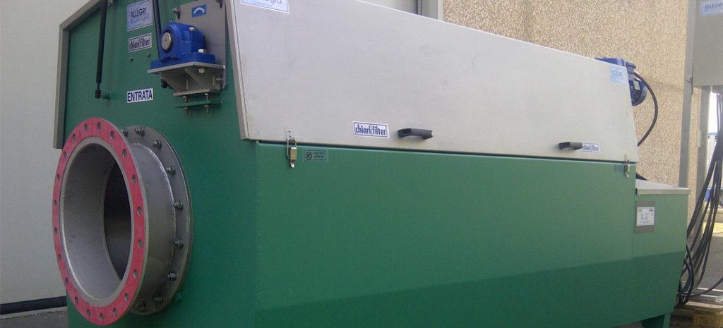 Impianti di filtrazione acque civili