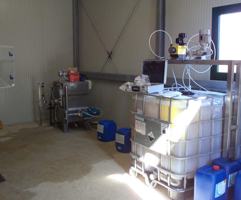 Polipreparatori in polvere e liquidi Allegri Ecologia