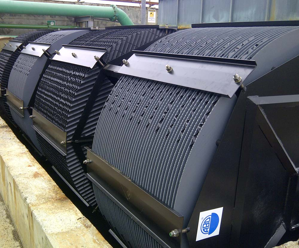 Allegri Ecologia rotori biologici a dischi per l'ossidazione biologica dei rifiuti