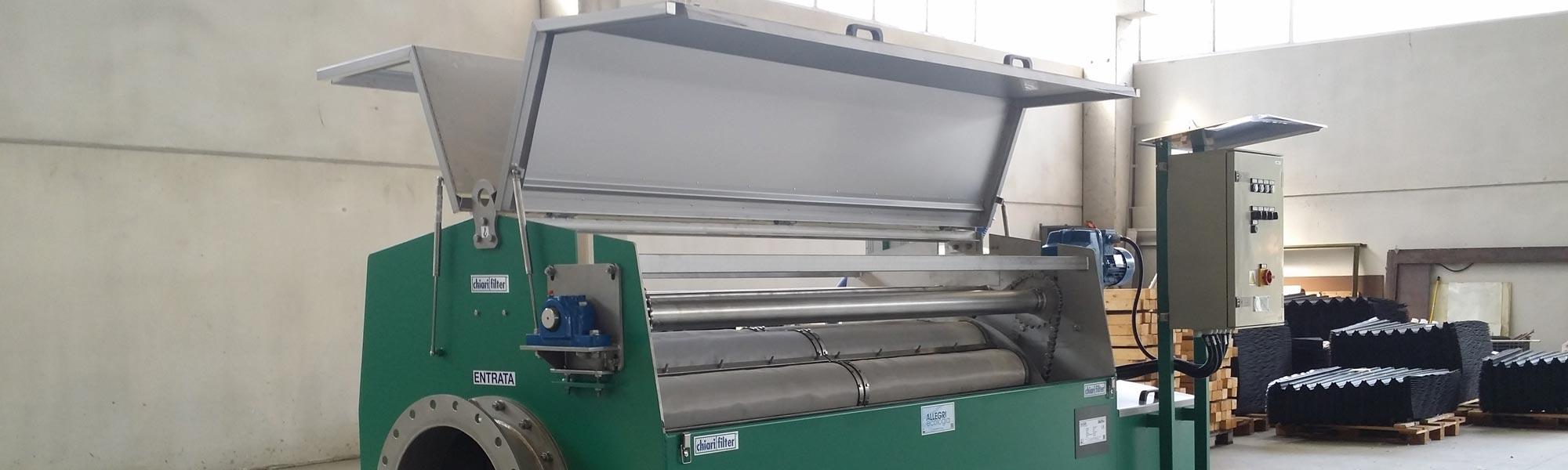 slide Chiarifilter impianti di filtrazione