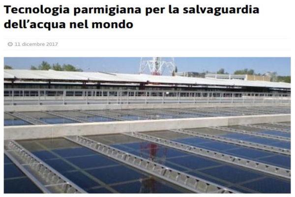 Allegri Ecologia sedimentatori Chiariflus articolo stampa