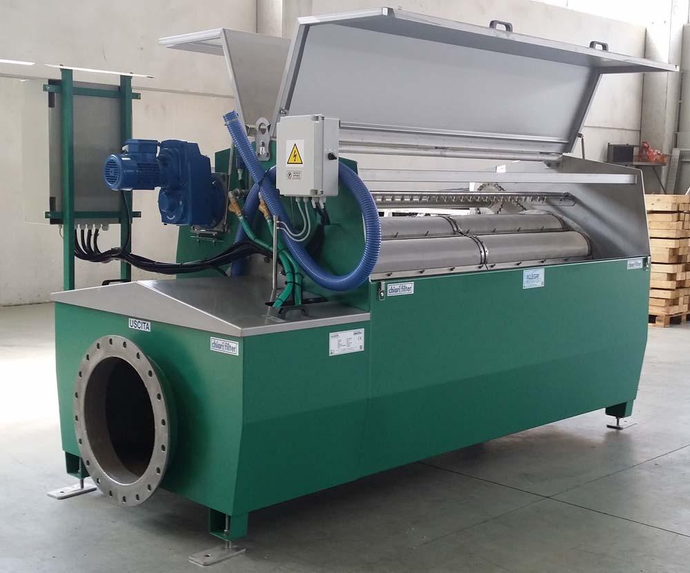 Impianti di filtrazione acque Allegri Ecologia