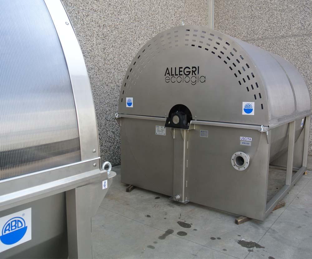 rotori biologici a dischi per l'ossidazione biologica